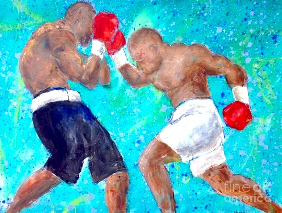 Fight Painting - The Fight by Mark Macko