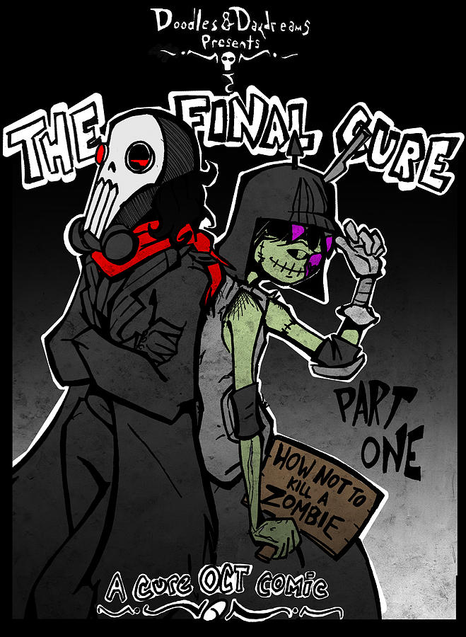 Zombie Digital Art - The Final Cure by Jamie Lindenmeier