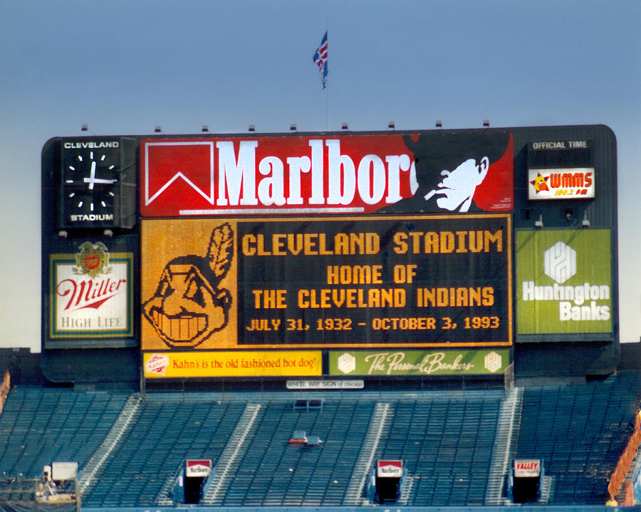 Cleveland Photograph - The Final Game 10.3.1993 by Kenneth Krolikowski