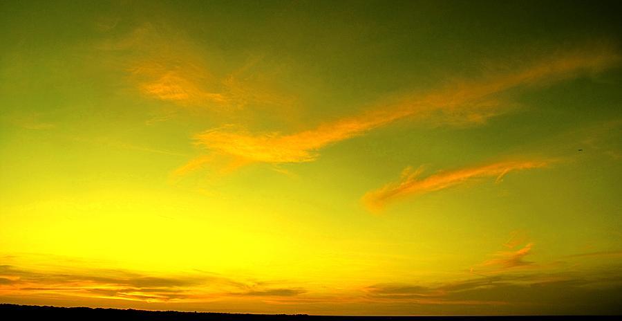 Sunset Photograph - The Final Light Is Gold by Ian  MacDonald