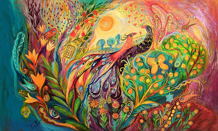 Original Painting - The First Song In The Morning  by Elena Kotliarker