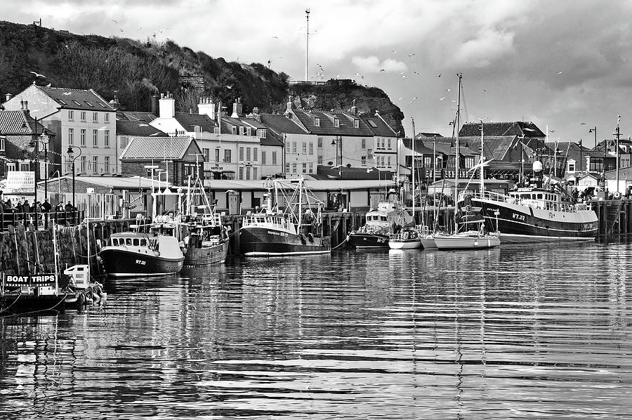 The Fish Quay, Whitby Photograph