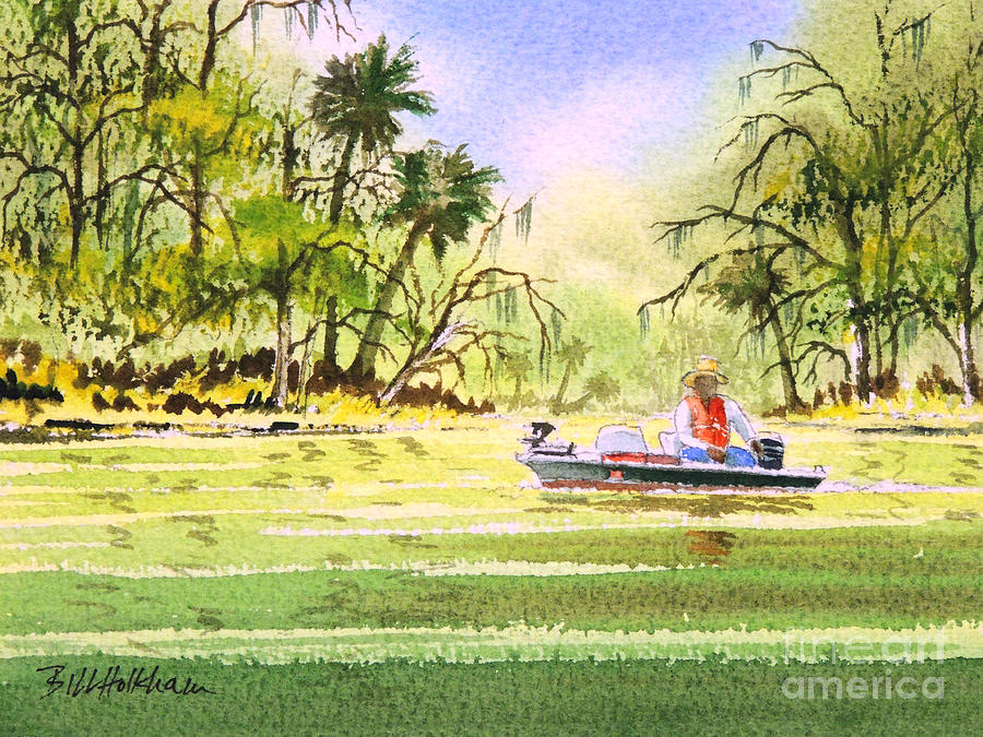 The Fishing Is Done - Heading Home Painting