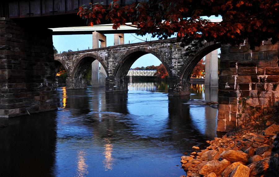 The Five Bridges - East Falls - Philadelphia