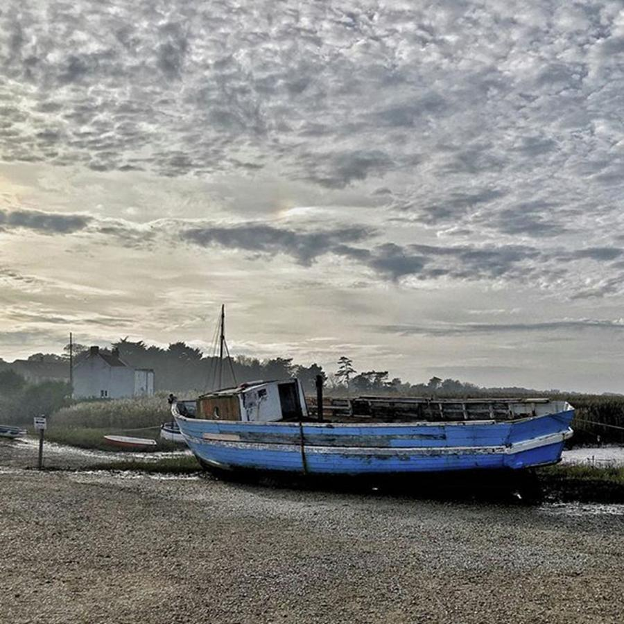 Beautiful Photograph - The Fixer-upper, Brancaster Staithe by John Edwards