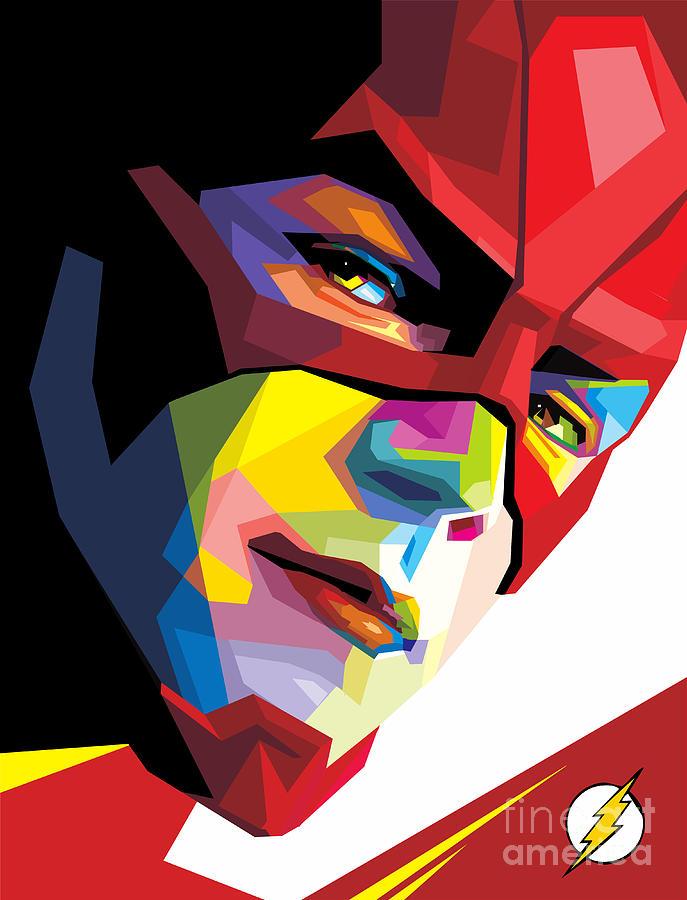 The Flash Digital Art