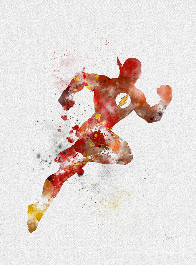 The Flash Mixed Media By My Inspiration