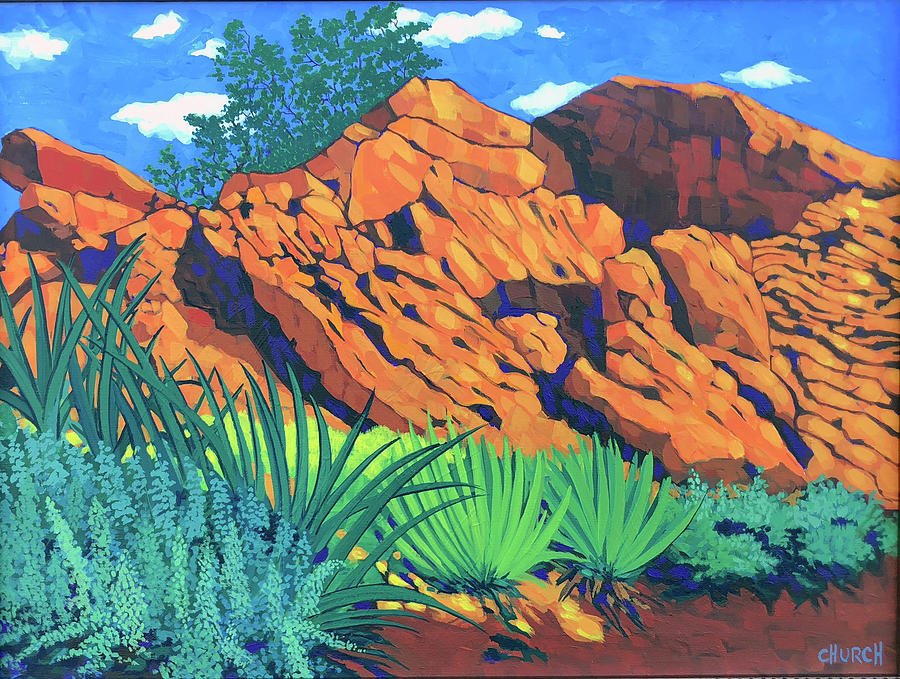 Southern Utah Painting - The Flicker Trail by Ken Church