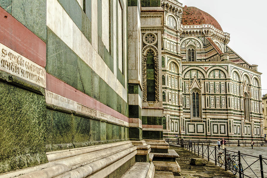Florence Photograph - The Florence Cathedral by Wolfgang Stocker