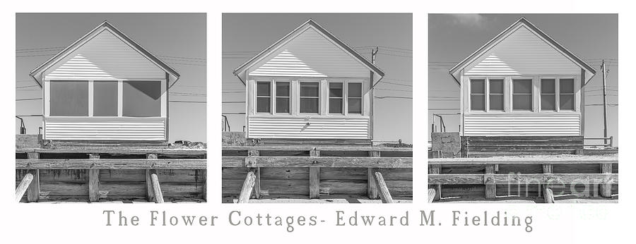 Trio Photograph - The Flower Cottages Trio Poster by Edward Fielding