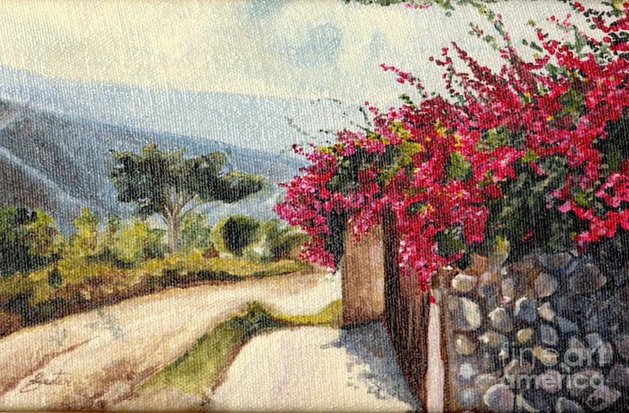 The Flowered Path by Daniela Easter