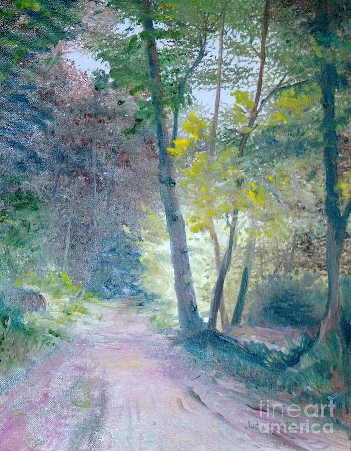 Landscape Painting - The Forest by Judy Groves