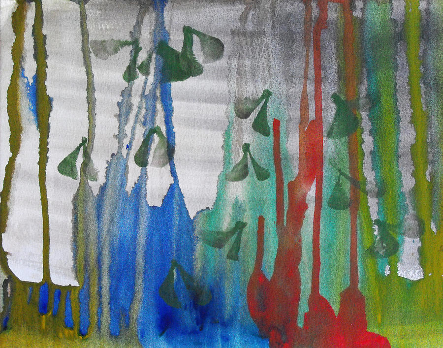 Abstract Painting - The Forest Primeval by Catherine Sprague