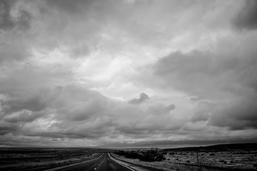 Cloud Photograph - The Forever Road by Claudia Botterweg