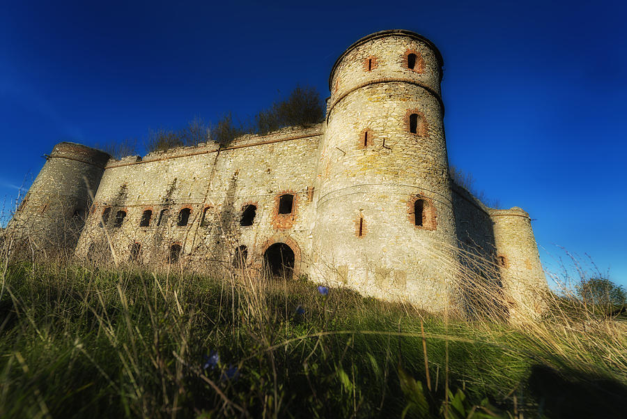 Abandoned Places Photograph - The Fortress - La Fortezza by Enrico Pelos
