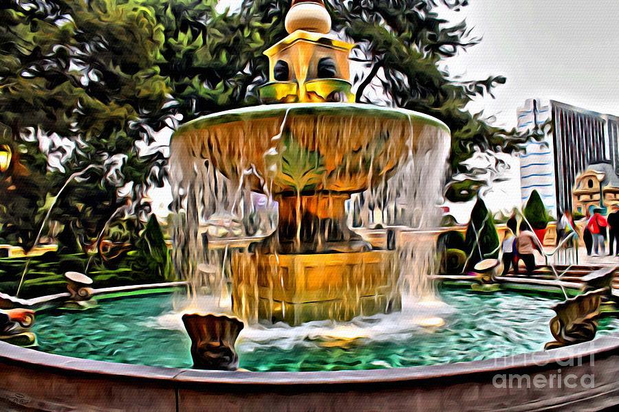 Fountain Photograph - The Fountain by Beauty For God