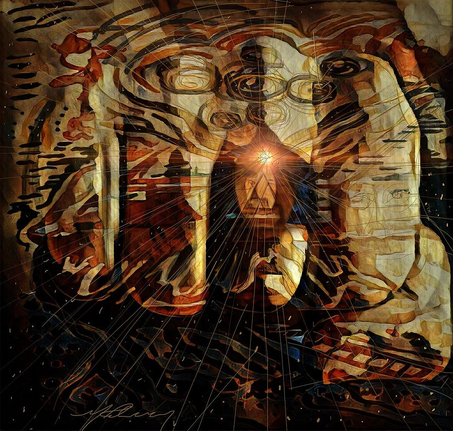 The Freedom Is In The Mind Mixed Media by Michael Richardson