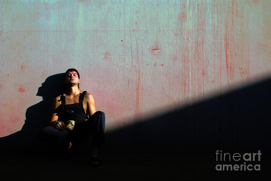 Light Photograph - The Friend To My Friend... by Vadim Grabbe