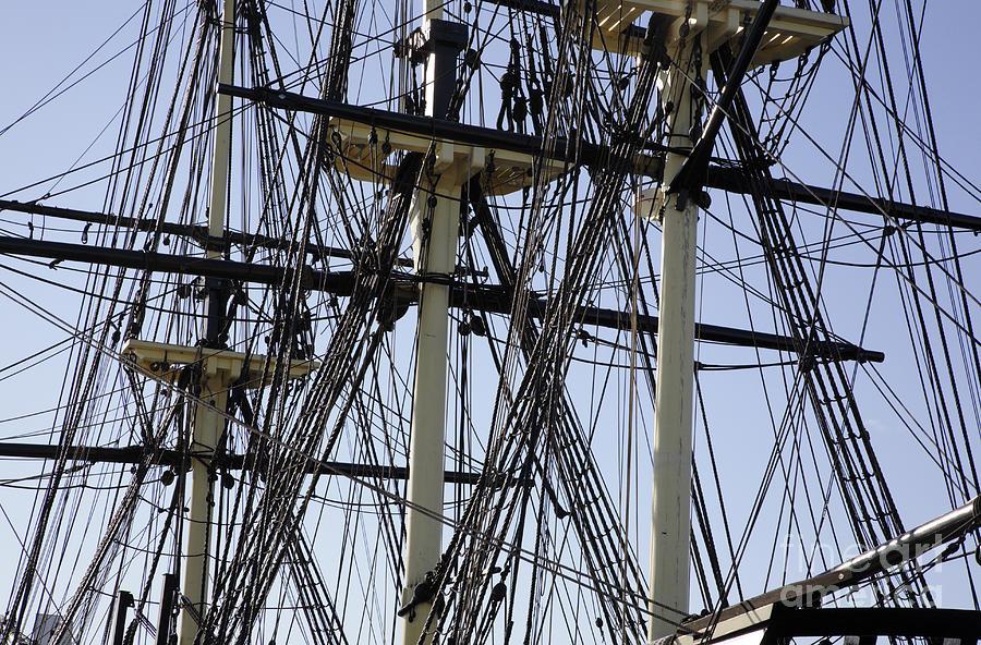 Salem Photograph - The Friendship Of Salem Tall Ship  In Salem Massachusetts Usa by Erin Paul Donovan