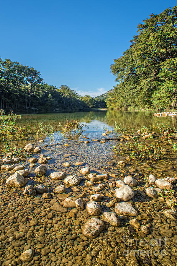 Texas Hill Country Photograph - The Frio River In Texas by Andre Babiak