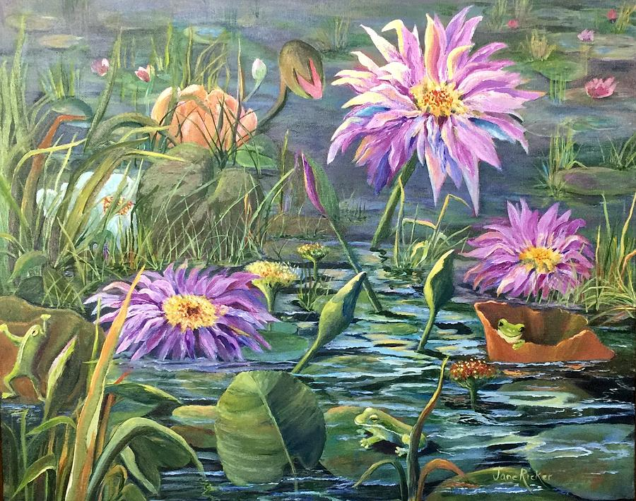 The Frog Pond by Jane Ricker