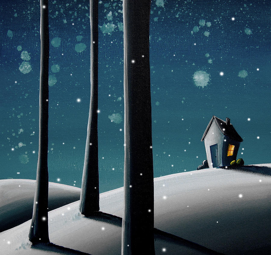 Night Painting - The Frost by Cindy Thornton