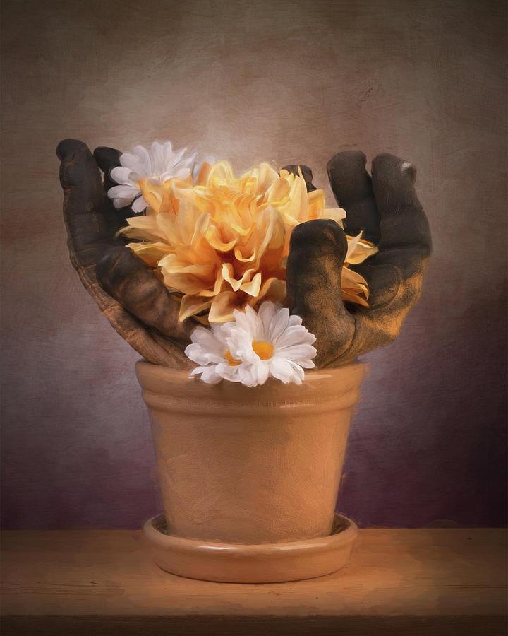 Flowerpot Photograph - The Fruits Of Labor by Tom Mc Nemar