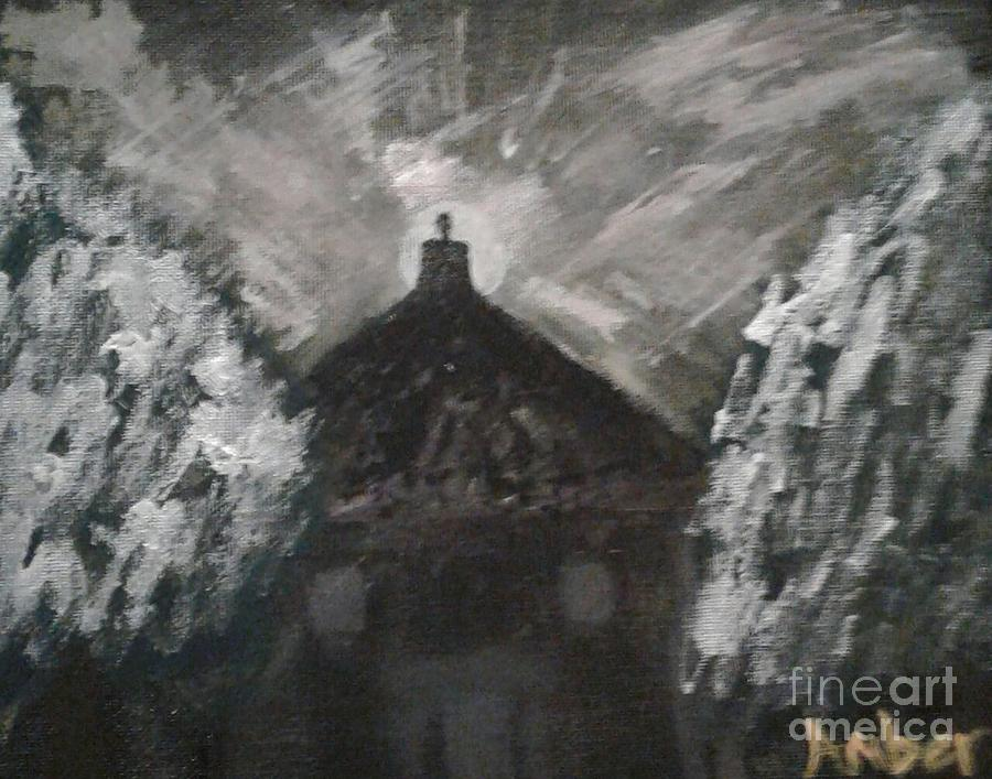 The Full Moon Painting
