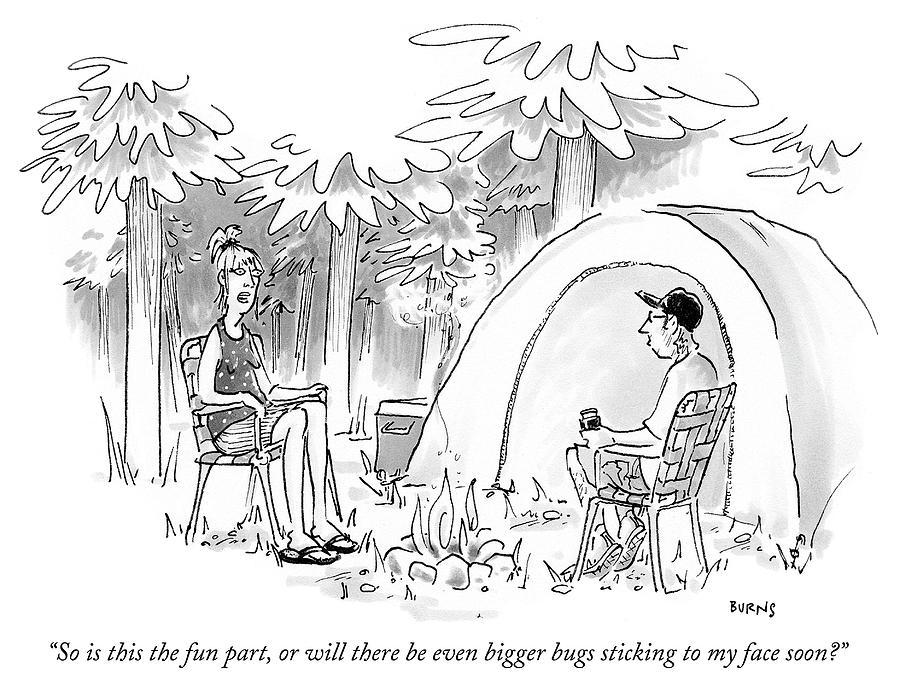 The Fun Part Drawing by Teresa Burns Parkhurst