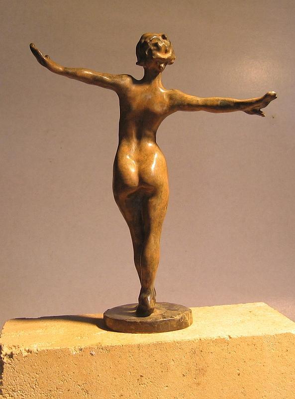 Nude Sculpture - The Funambulist by Olivier Duhamel