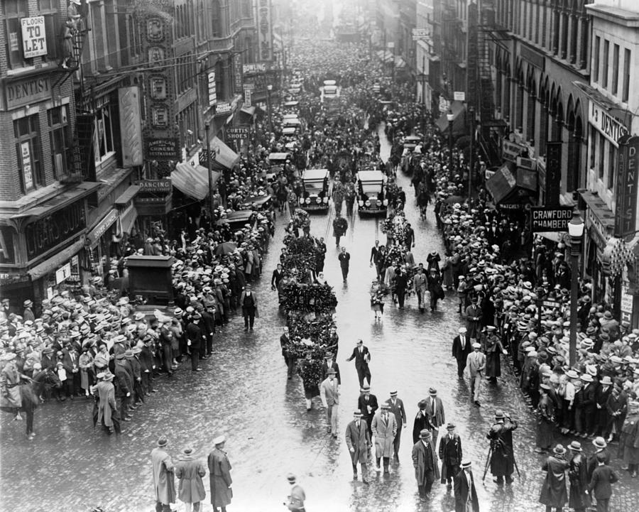 History Photograph - The Funeral Procession Of Executed by Everett