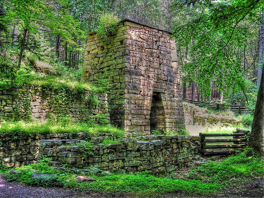 Hiking Photograph - The Furnace by Andrew Webb