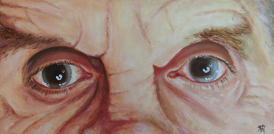 Cataract Painting - The Future Was Clouded by Kirsten Beitler