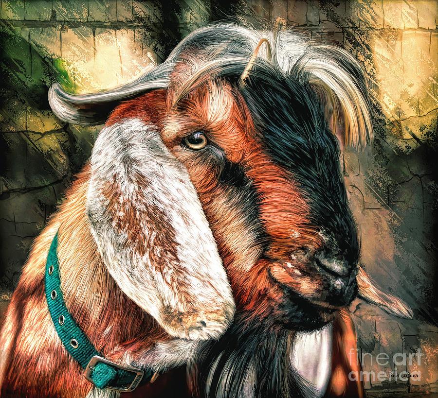 The Gallant Goat Digital Art