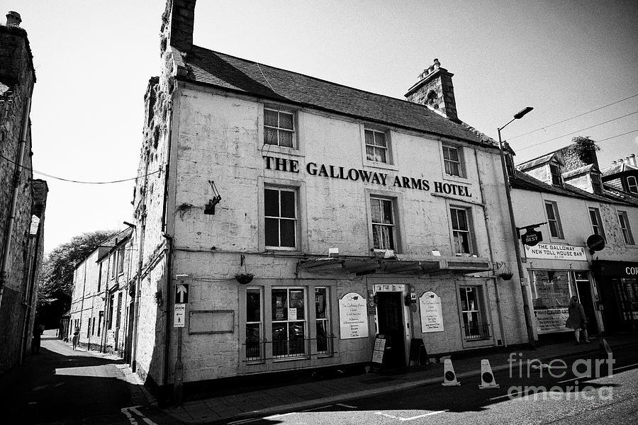 The Galloway Arms Hotel Victoria Street Newton Stewart Dumfries And  Galloway Scotland Uk by Joe Fox