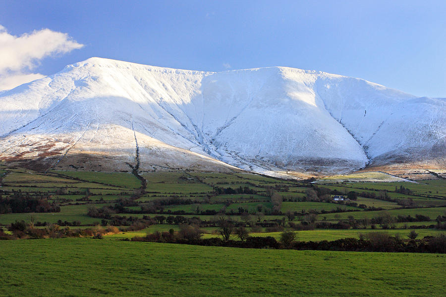 Galtees Photograph - The Galtees  Irelands Tallest Inland Mountains by Pierre Leclerc Photography
