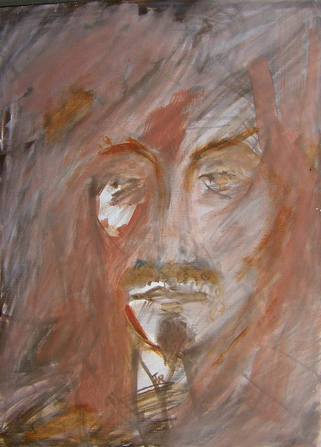 Abstract Painting - The Gambler by Judith Redman