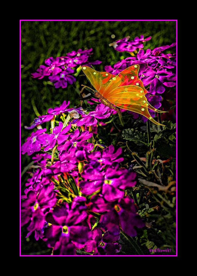 The Garden Greeting Card Photograph