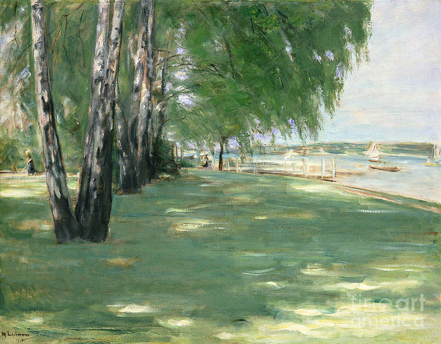 The Painting - The Garden Of The Artist In Wannsee by Max Liebermann
