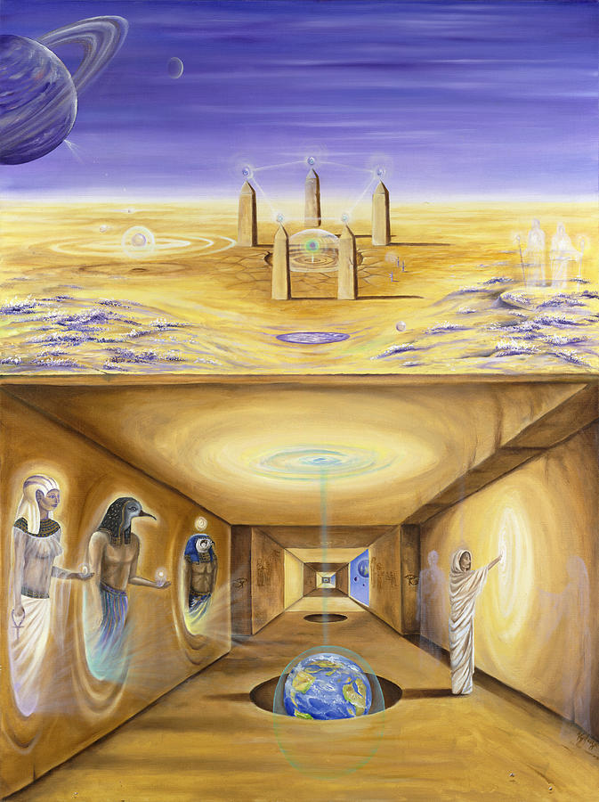 Egypt Painting - The Gate Keeper by Teresa Gostanza