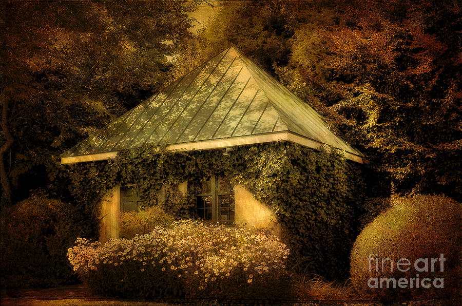 Gatehouse Photograph - The Gatehouse by Lois Bryan