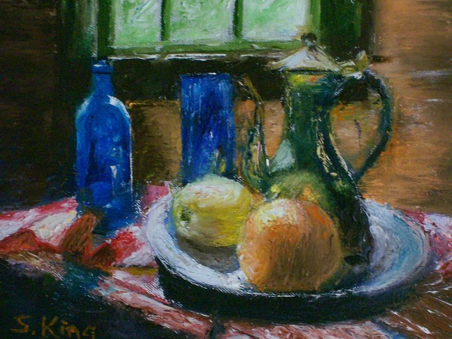 Still Life Painting - The Gathering by Stephen King