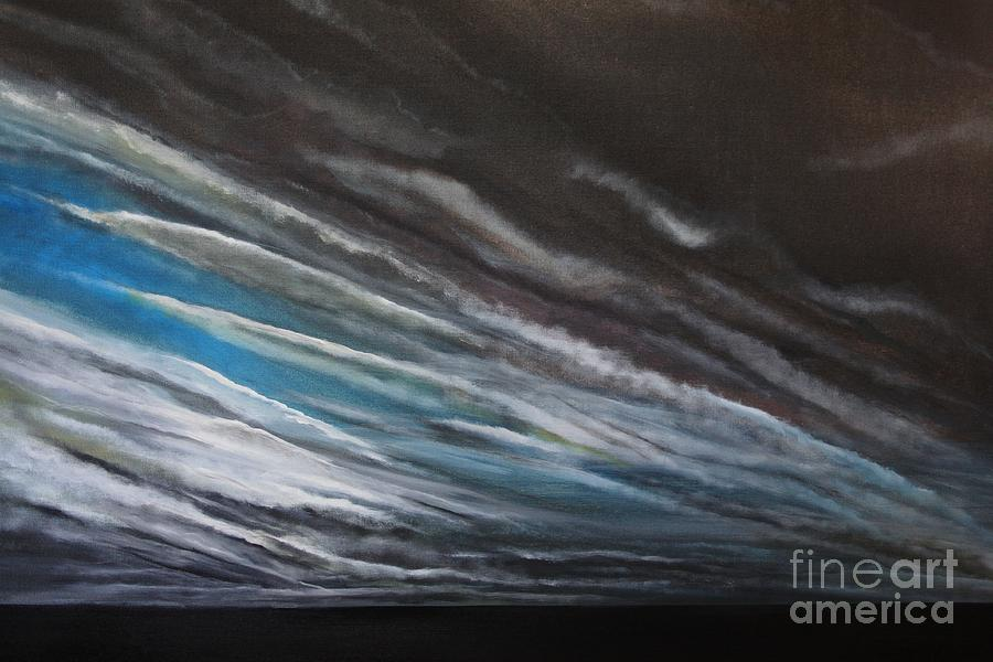 Sky Painting - The Gathering Storm by Paul Horton