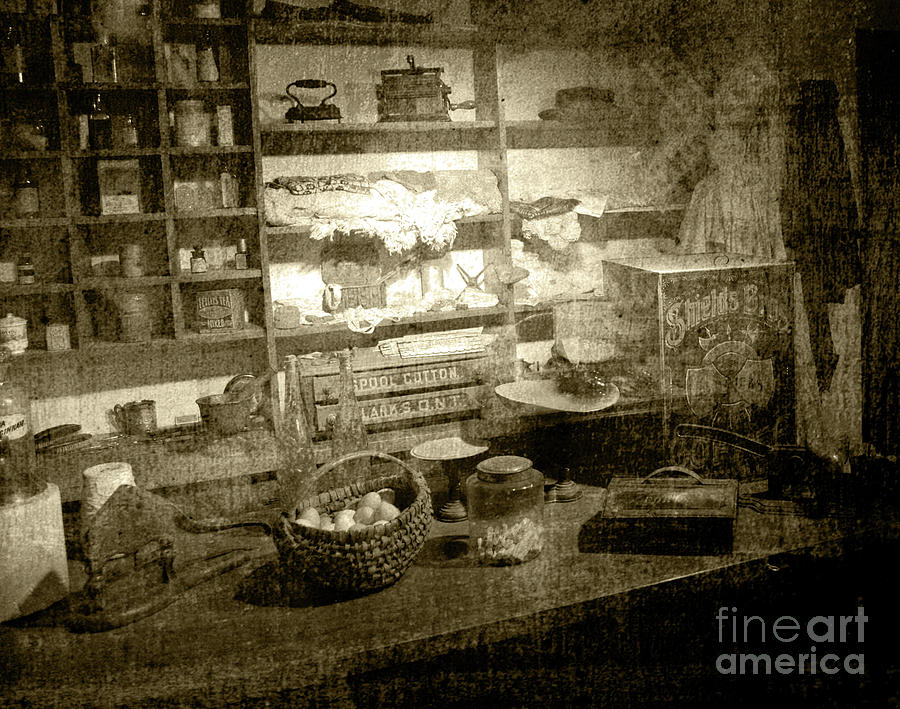 General Store Photograph - The General Store by Pete Hellmann