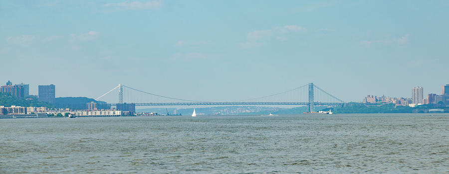 The Photograph - The George Washington Bridge - New York - New Jersey by Bill Cannon