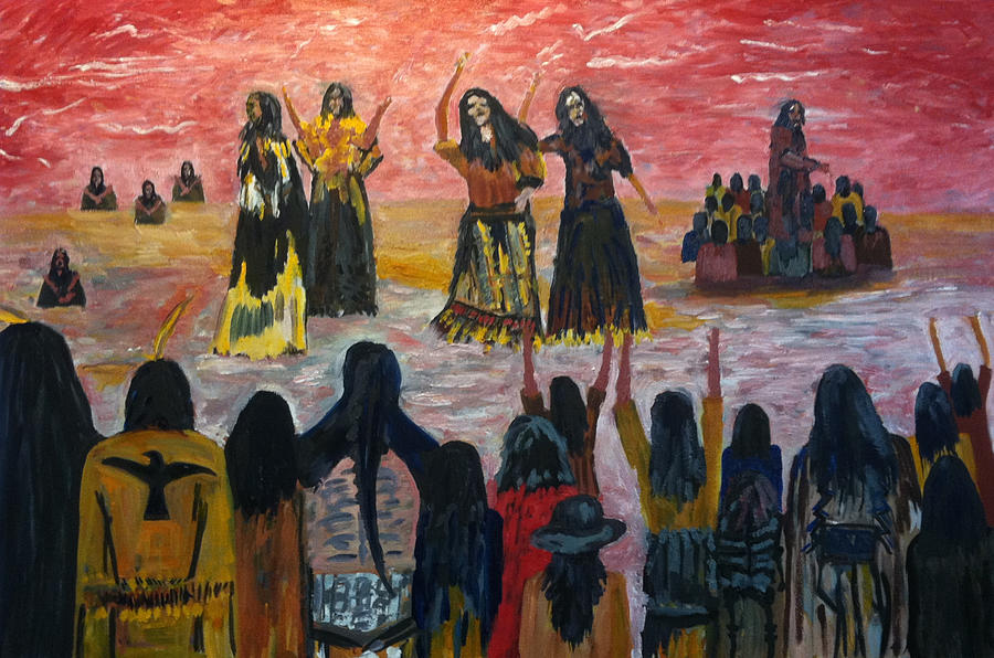 the ghost dance The ghost dance movement was started in the 1890's by wovoka, a paiute man  the messiah's message declared that there would come a time when the earth.