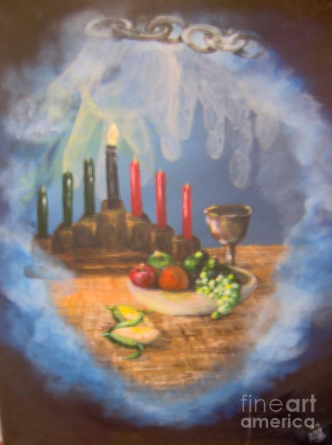Still Life Painting - The Gift by Saundra Johnson
