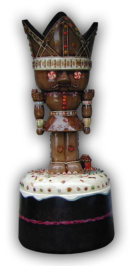 The Gingerbread King Sculpture by Paul Illian