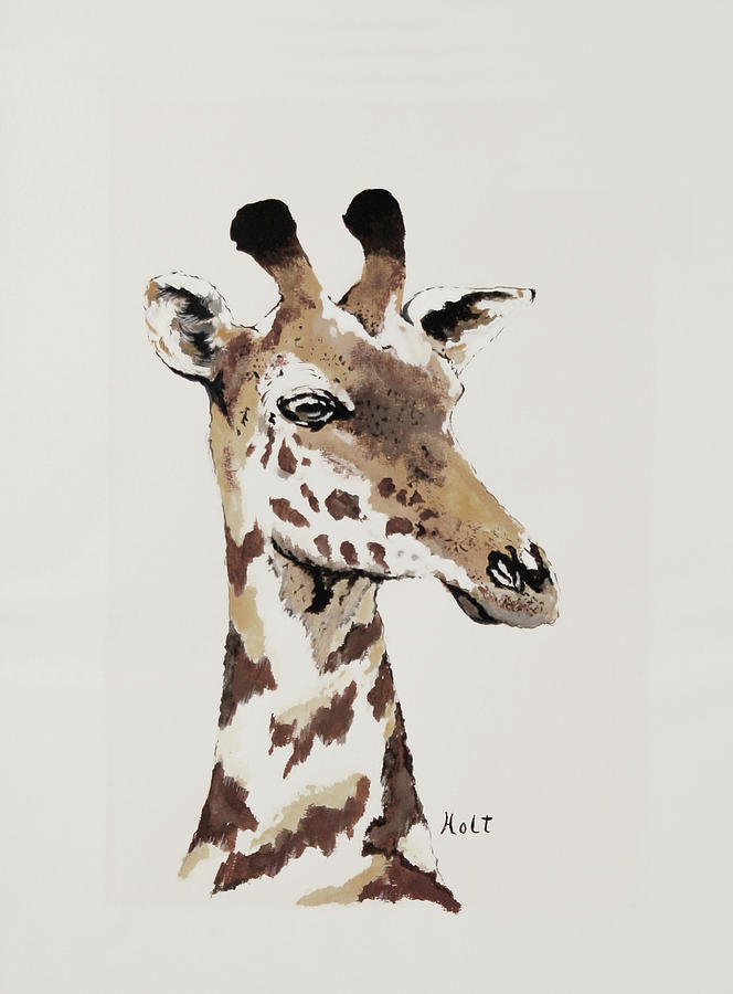 The Giraffe by Linda Holt