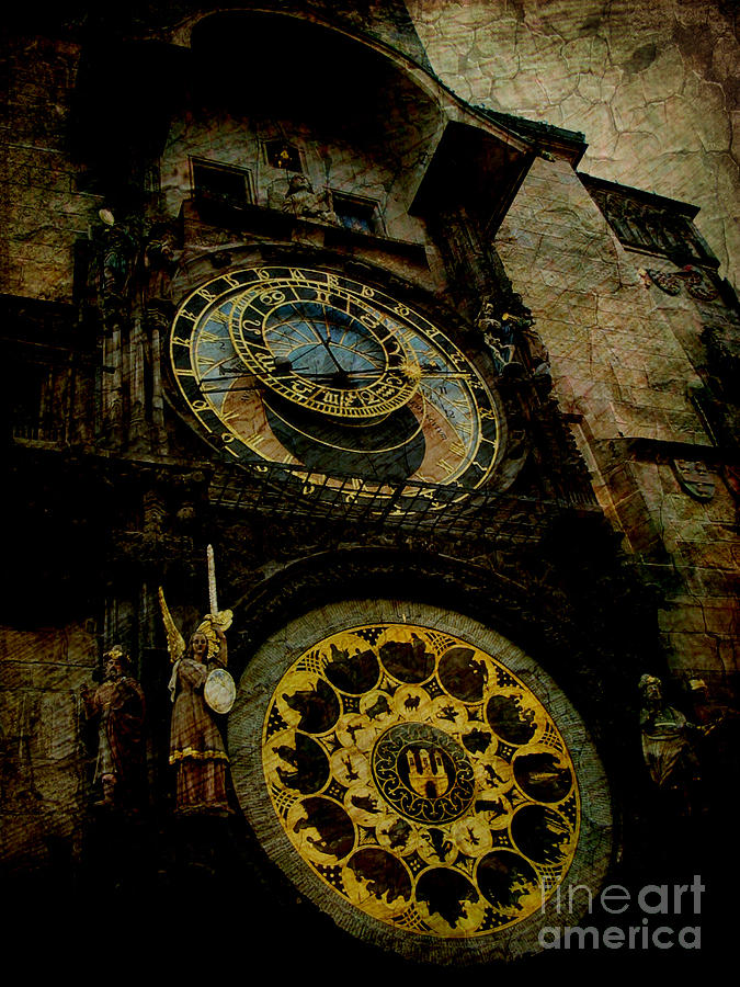 Ancient Photograph - The Gods Of Time by Lee Dos Santos